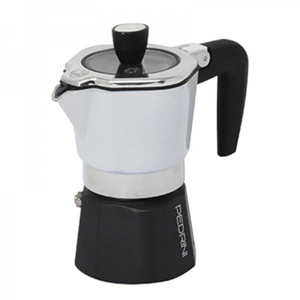 Pedrini Sei Moka Plus Moka Pot  <br>3 Cups